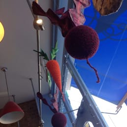 Ever seen a knitted beet??