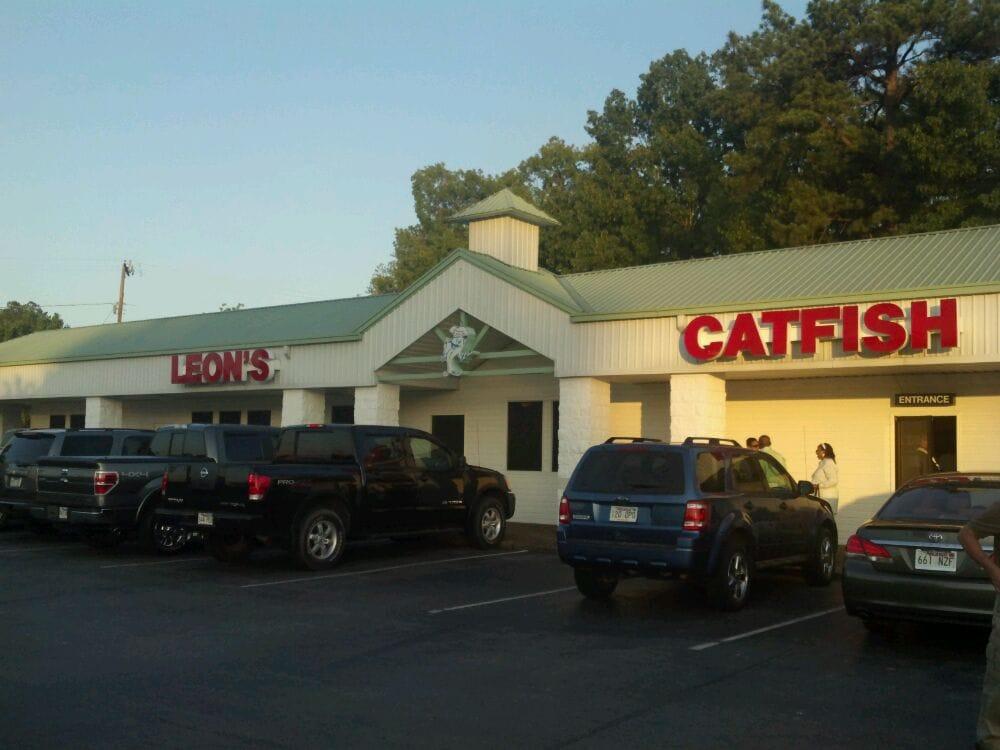 Leon S Catfish Shrimp Restaurant Pine Bluff Facebook