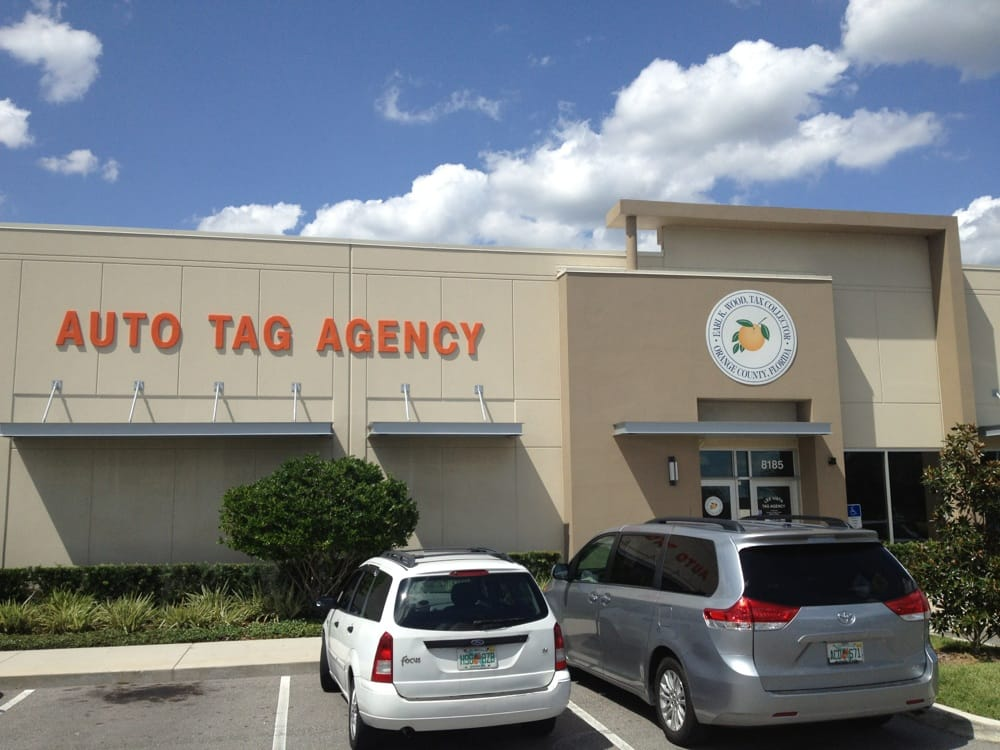 Orange county tax collector departments of motor Motor vehicle department florida