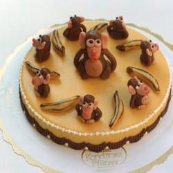 Bananentorte zum Geburtstag