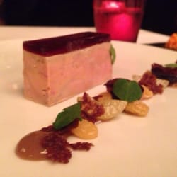 Duck Foir Gras w grape Jelly/Aspic on…