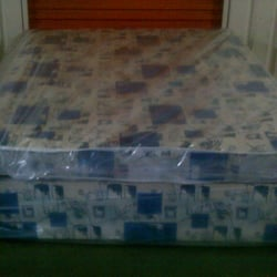 CANDY DIVAN BED WITH 6 INCH MATTRESS ... SINGLES £55 DOUBLES £85 AND KING SIZE £99.99