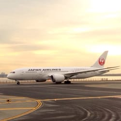 Japan Airlines - Jamaica, NY, États-Unis. JAL 787 taking off from runway 4L