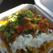 Old Mexico Restaurant - Chicken nachos - Anaheim, CA, Vereinigte Staaten