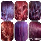 Red Purple Hair Color Chart | www.pixshark.com - Images ...