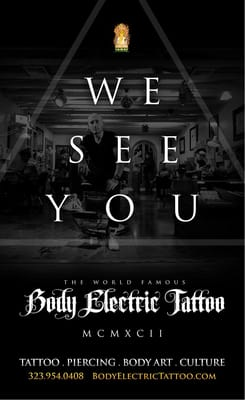 for Body electric tattoo piercing los angeles ca