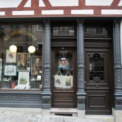 Museumsladen gegenüber des Dürerhauses