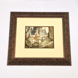 Westlake Custom Framing - Westlake Village, CA, États-Unis. Original Snow White Concept Art by Gustaf Tenggren