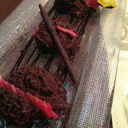 Mousse de chocolate con crujiente de…