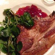 Pork chop was so delicious! N
