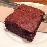 Their chocolate brownie is so moist on the inside