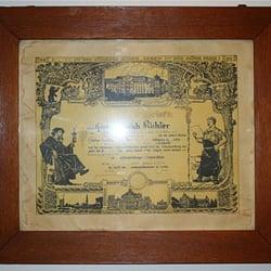 Richterscher Meisterbrief von 1931
