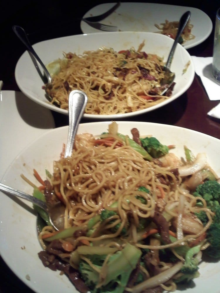 Beef lo Mein pf Changs Shrimp Beef lo Mein