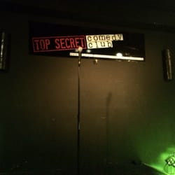 The Top Secret Comedy Club, London