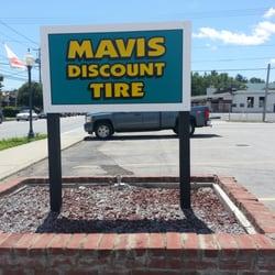 Mavis discount tire oil change coupons
