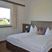 Schlafzimmer im Appartement Königgut