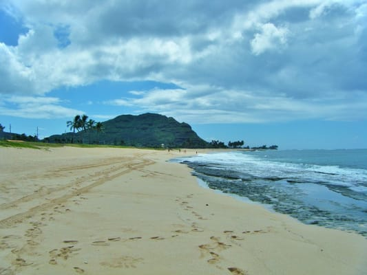 Maili Beach Park Pictures Say It All Looking Towards