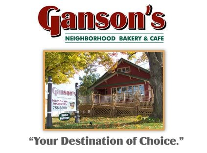 Ganson's Neighborhood Bakery & Cafe - Rock Island, IL, United States. Please stop by and visit our charming Bakery & Cafe'