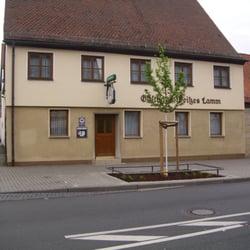 Metzgerei Weißes Lamm, Erlangen, Bayern