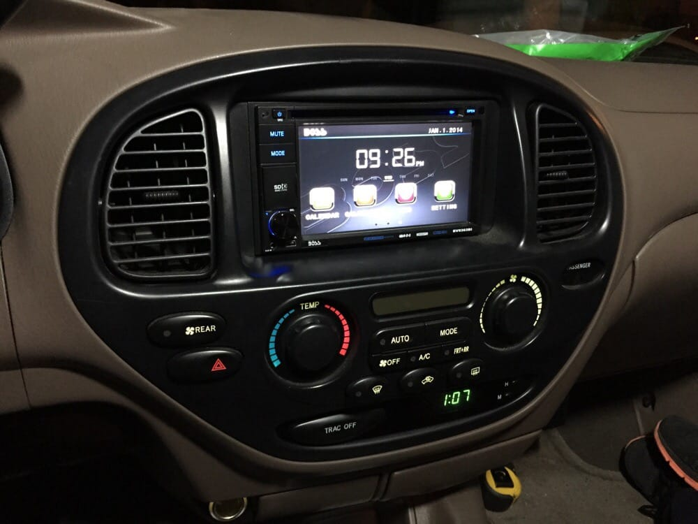Toyota Tundra Malaysia >> 03 Toyota Sequoia Boss double din DVD stereo install | Yelp