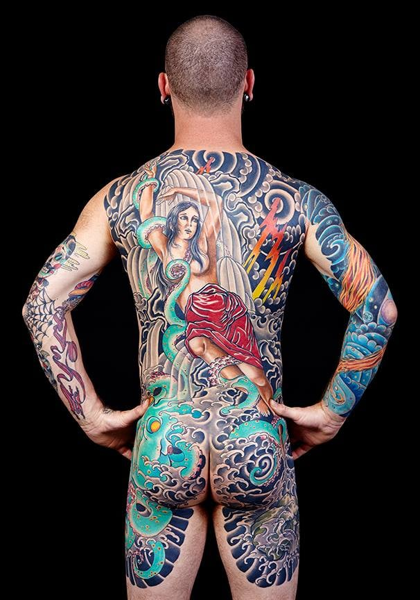 Winner best backpiece seattle tattoo convention 2014 mike for Tattoo expo seattle