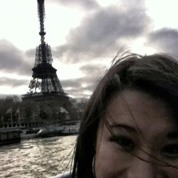 Floating down the Seine