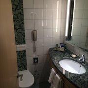 Das Bad im Hilton Vienna