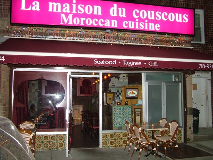 la maison du couscous closed moroccan restaurants bay ridge ny united states