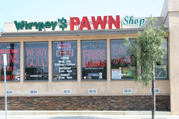 Tire Shops In Bakersfield Ca >> Wimpey's Pawn Shop in Azusa, California - (626) 334-9758