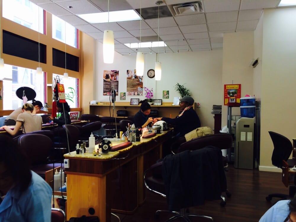 Escape nails spa nail salons downtown boston ma for 24 hour nail salon in atlanta ga