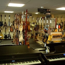 A really easy going music shop where you…