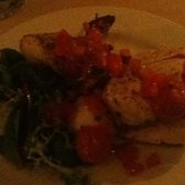 The monkfish was amazing