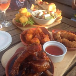 More delicious tapas on the terrace!