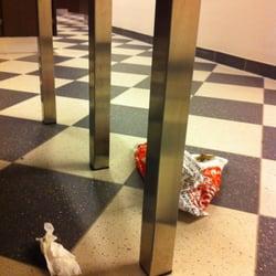 Der Müll flog rum als ich kam - und auch…