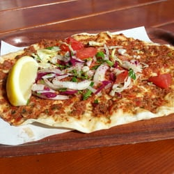 Leckerster Lahmacun in town.