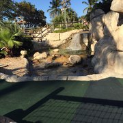 Boomers - Boca Raton, FL, États-Unis. Mini Golf view