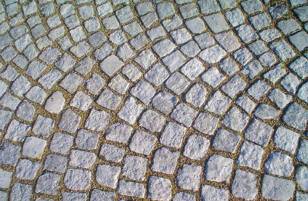 Beautiful paving options including granite setts yelp for King garden designs