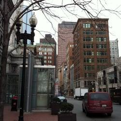 Harborside Inn - just outside the hotel - Boston, MA, Vereinigte Staaten