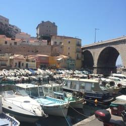 Chez Fonfon - Marseille, France. The view!