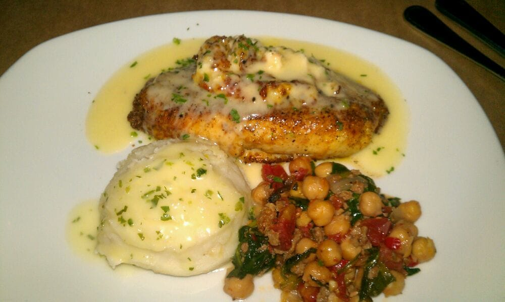 Imperial stuffed longfin tilapia w shrimp scallops crab for Stuffed fish with crab meat