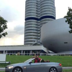 Me & my Bimmer! In München