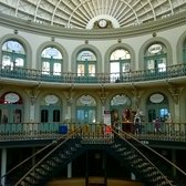 Here, have another photo from inside the Corn Exchange.