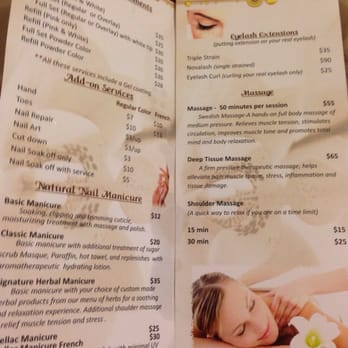 Tipsy Salon And Spa Prices