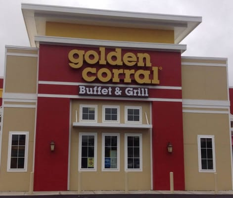 where the closest golden corral restaurant