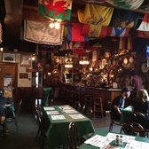 Founding Fathers Pub - Buffalo, NY, United States. The inside is loaded with historical artifacts and cool flags.