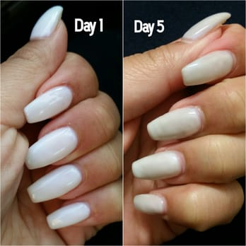 Gel nail manicure los angeles