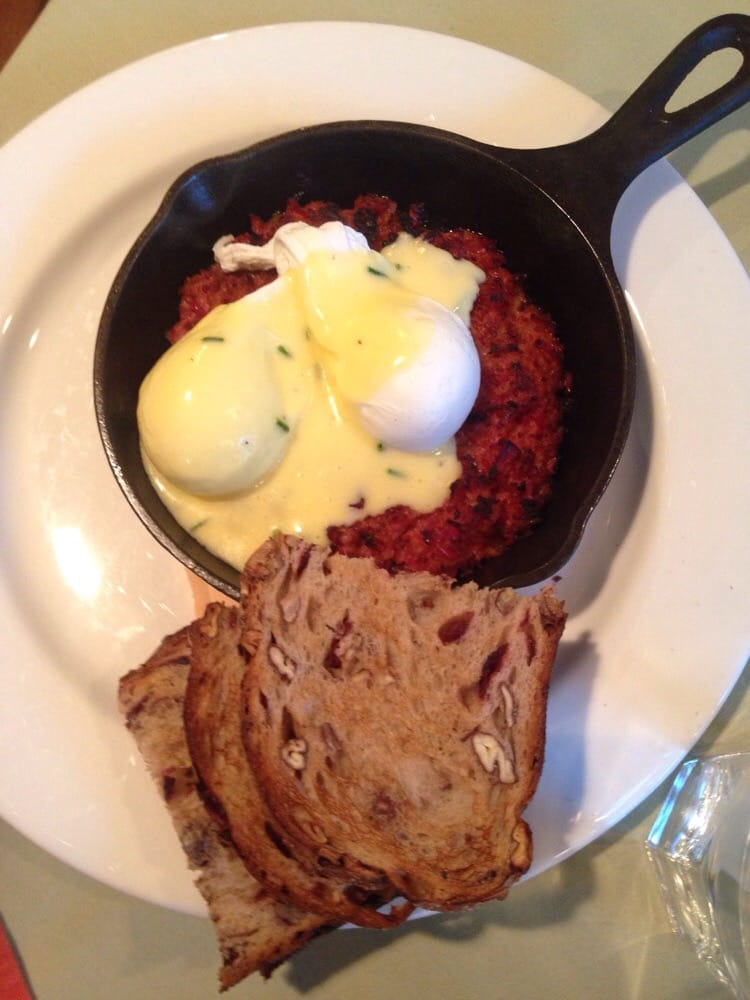 Henrietta's Table - Cambridge, MA, United States. Corn beef hash with poached eggs