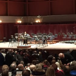 Ordway Center for the Performing Arts - Getting ready for Beethoven's Pastoral. - Saint Paul, MN, Vereinigte Staaten