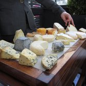 Look at that cheese plate!