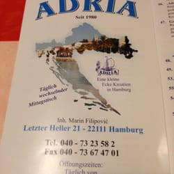 Adria Restaurant, Hamburg, Germany
